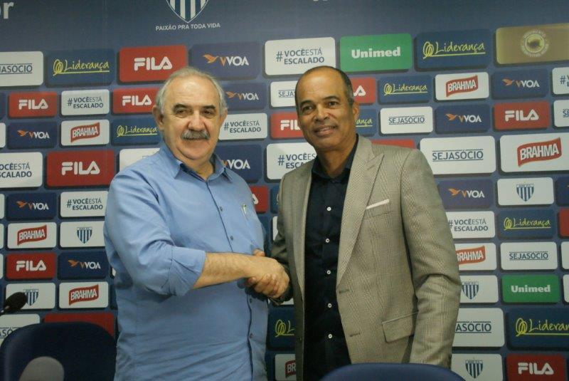 Apresentação de Marcelo Gonçalves, Diretor de Esportes. FOTO: Alceu Atherino