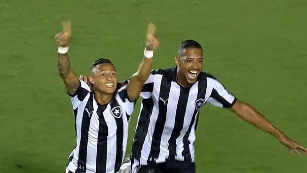 Neilton garante a vitória do Botafogo contra a Cabofriense