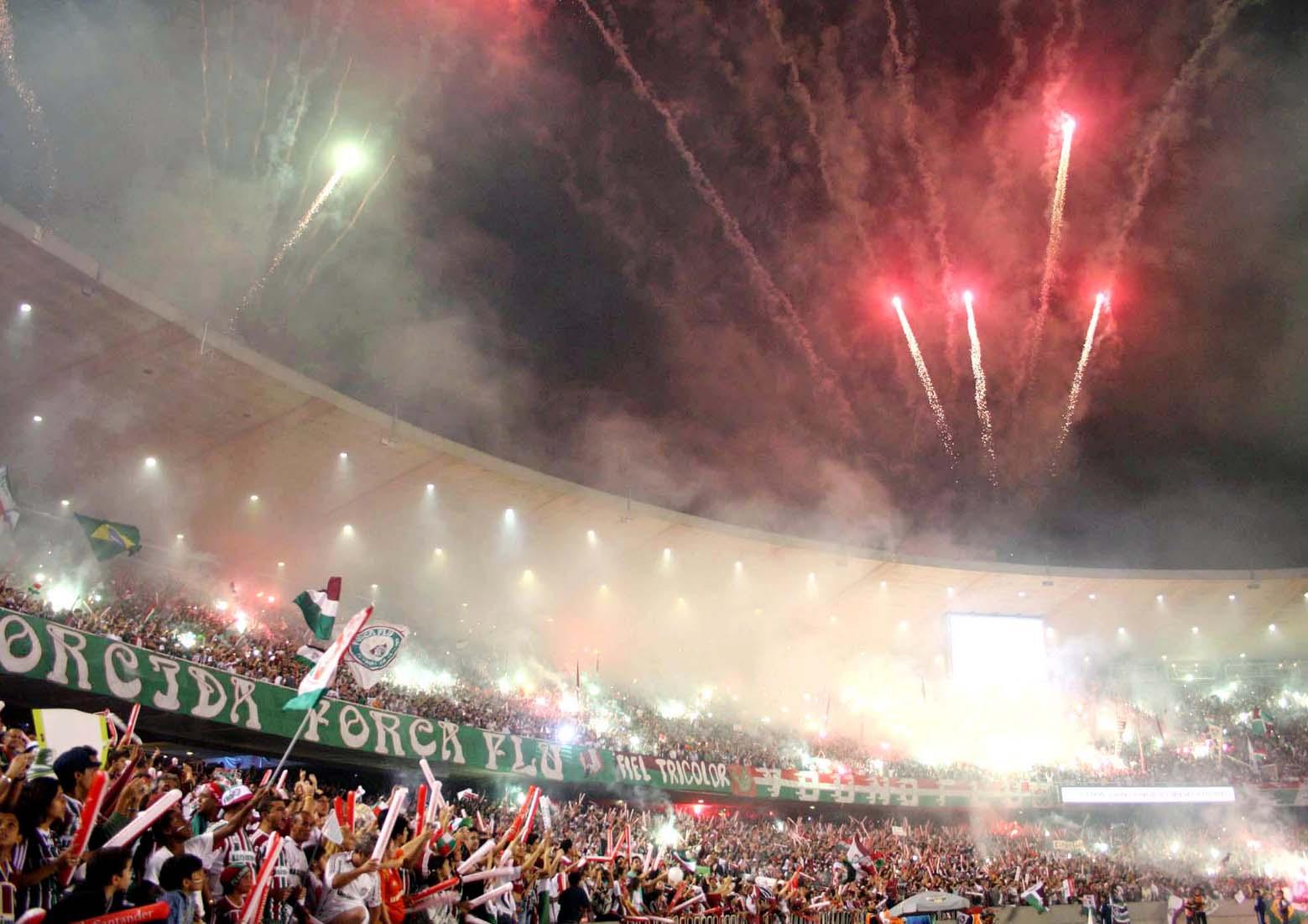 Rio de Janeiro;Maracanã;Final Copa Libertadores; Fluminense x LDU;02/07/2008; Foto:Ricardo Ayres/Photocamera
