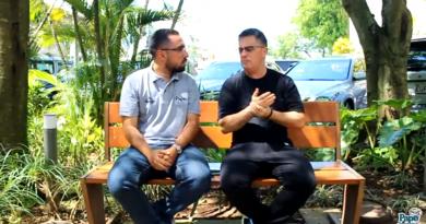 Papo de Concentra entrevista o repórter Fernando Fernandes da Bandeirantes